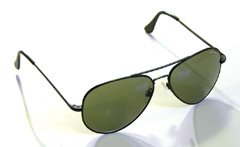 Randolph Engineering makes sunglasses for the US Air Force. This is the 15% grey tinted Concorde style with black frames. These are currently my aviator sunglasses of choice.
