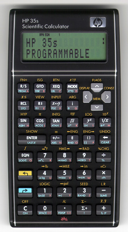 Review Hp 35s Programmable Scientific Calculator
