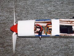The speed control installed in the author's Fred's Special (designed by Vernon Williams).