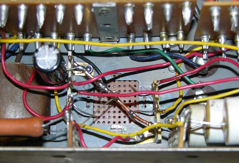 Overhauling the AO-29 Amplifier in the Hammond M-100 Series