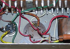 I photographed all the existing wiring to each can capacitor.