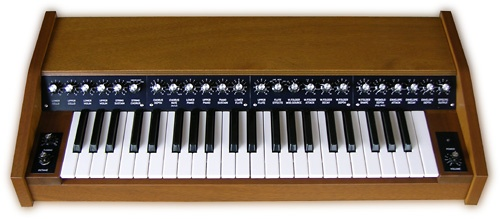 Yes, this was originally a 1979 PAiA model 1550 Stringz'n'Thingz synthesizer!