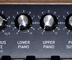 Split lower and upper piano level controls.