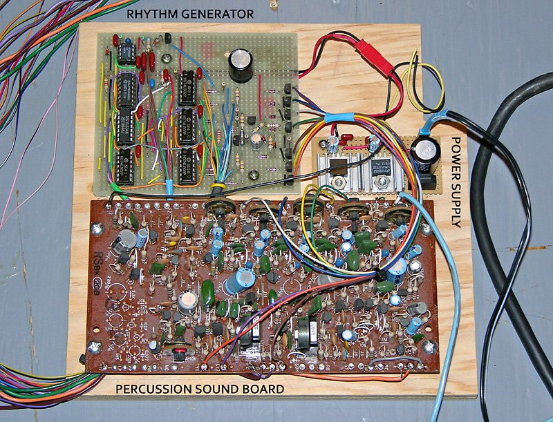 In A A Stripboard Layout For The Um3561 Sound Effect Circuit Shown In
