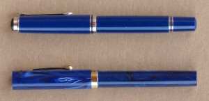 Pelikan and Sheaffer, capped.