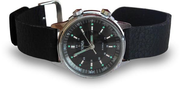 Sekonda Alarm Watch with Poljot 2612.1 Movement