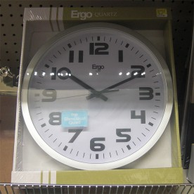 This $18 clock provided the case, bezel, glass, hands, and movement.