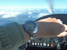 This watch was made for flying.