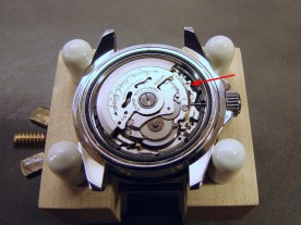 The NH35A is a reliable hacking, hand-windable automatic movement.