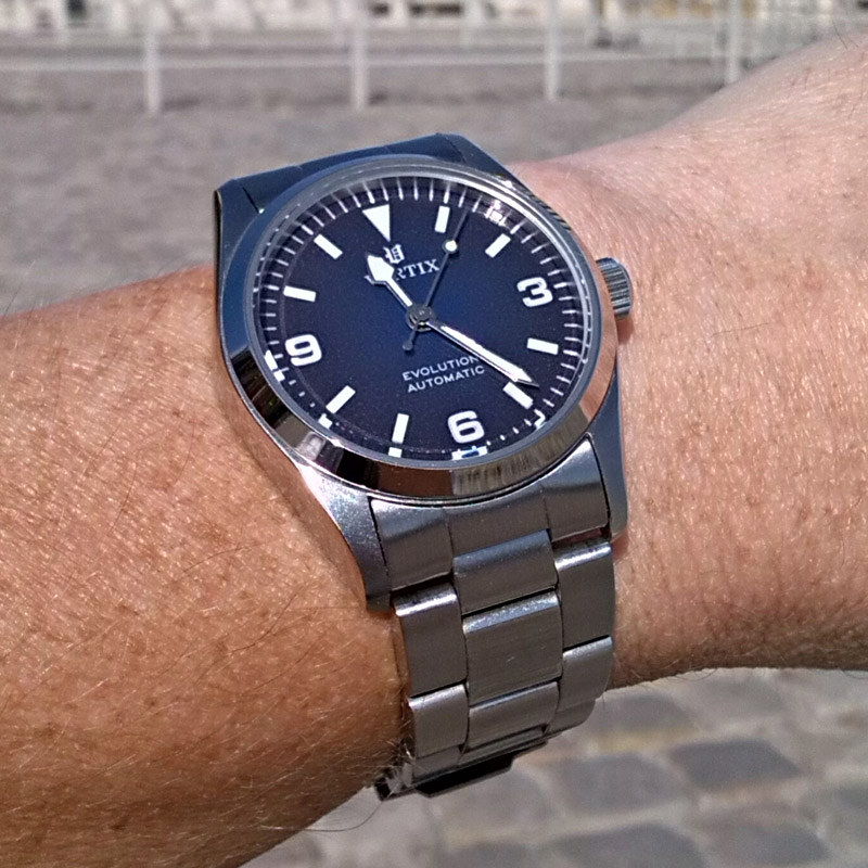 Making custom watch dials for Vortix watches