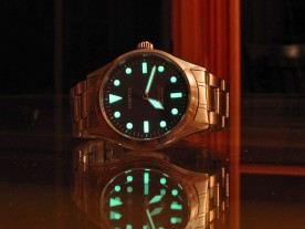 The heavy lume is very bright.