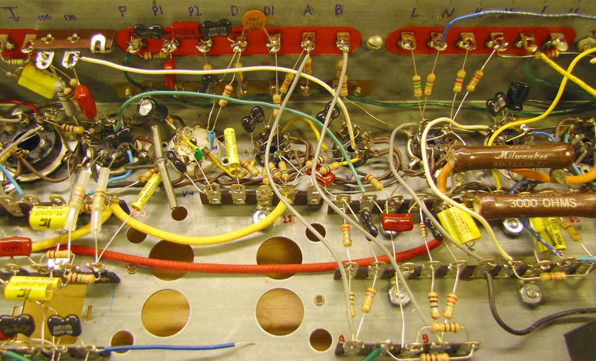 Rebuilding a Hammond AO-29 Amplifier from the Ground Up on