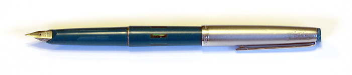 Geha 707 with a Stainless Steel Fine Nib, from about 1976.