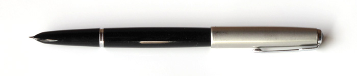 "Parker ""51"" Special with Fine Octanium (Stainless Steel) Nib, from about 1952."