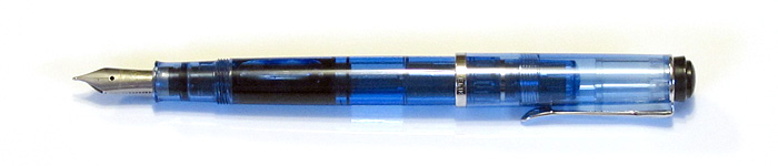 Pelikan M205 (2011) with a Stainless Steel Medium Nib (about 1990).