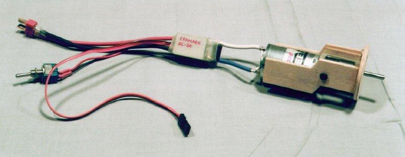 Electric Flight Wiring