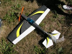This all-foam Cobra belonging to Joe Tomasone is powered by a Razor 400 brushless motor with 5.3:1 gearbox and an 11x4.7 GWS propeller. Flying weight is 11 ounces.