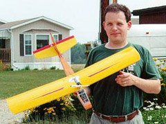GravelMaster, a cheap and tough Speed 400 fun plane.